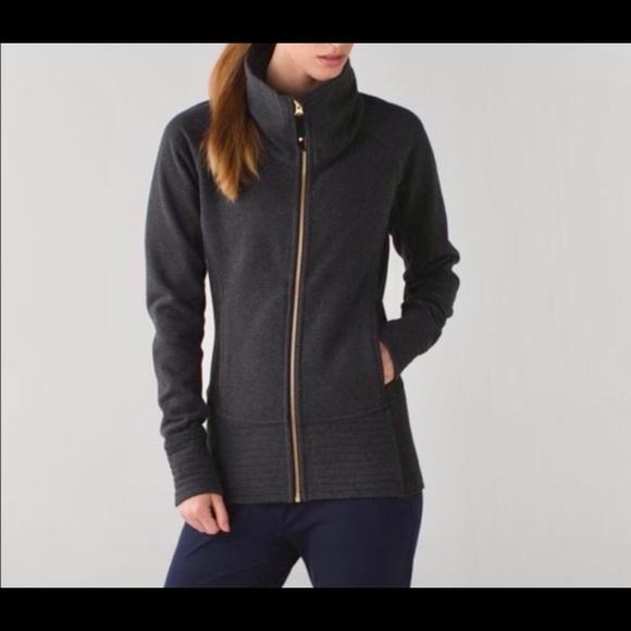 Lululemon Charcoal Radiant Jacket